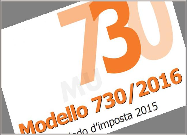 Modello 730/2016