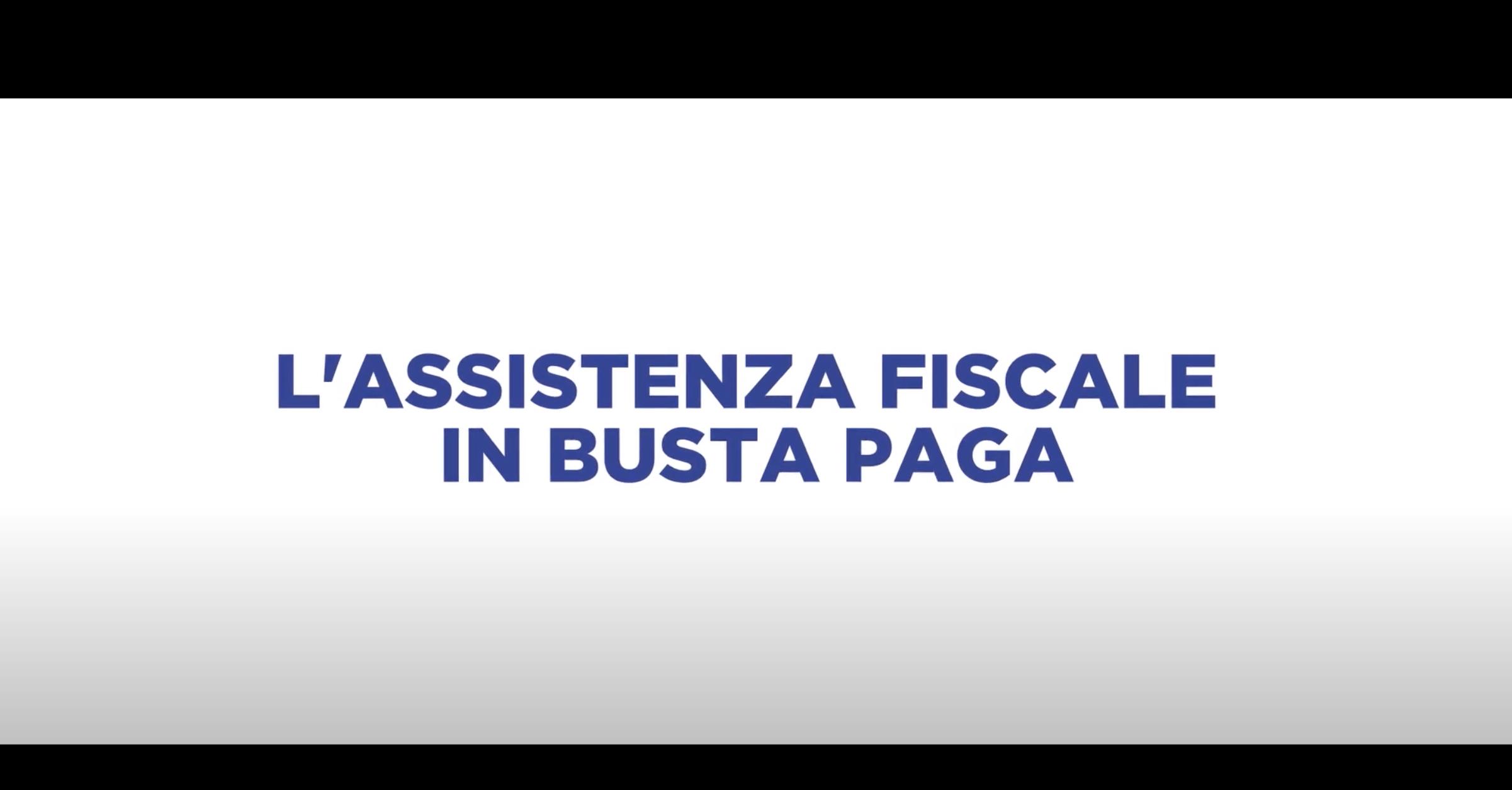 L'ASSISTENZA FISCALE IN BUSTA PAGA