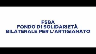 FSBA – FONDO DI SOLIEDARITÀ BILATERALE PER L'ARTIGIANATO