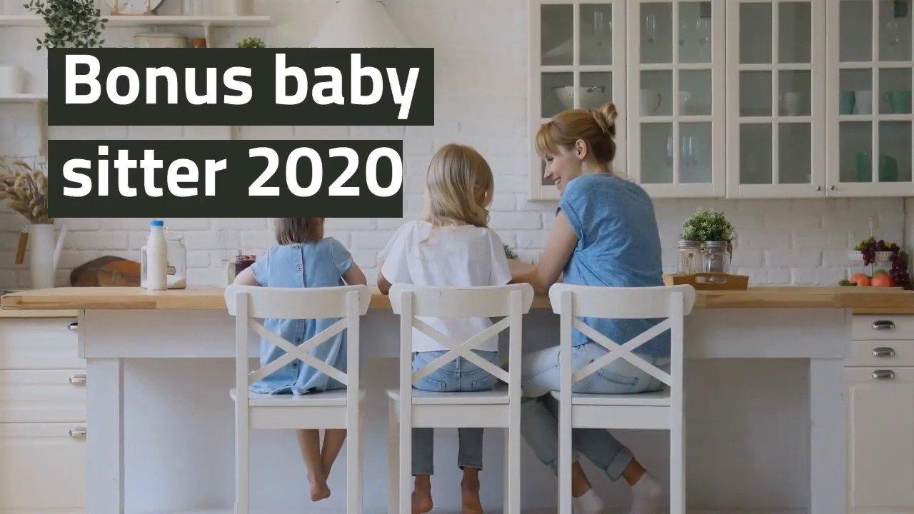 BONUS SERVIZI BABY SITTING E ISCRIZIONE AI CENTRI ESTIVI E SERVIZI INTEGRATIVI PER L'INFANZIA