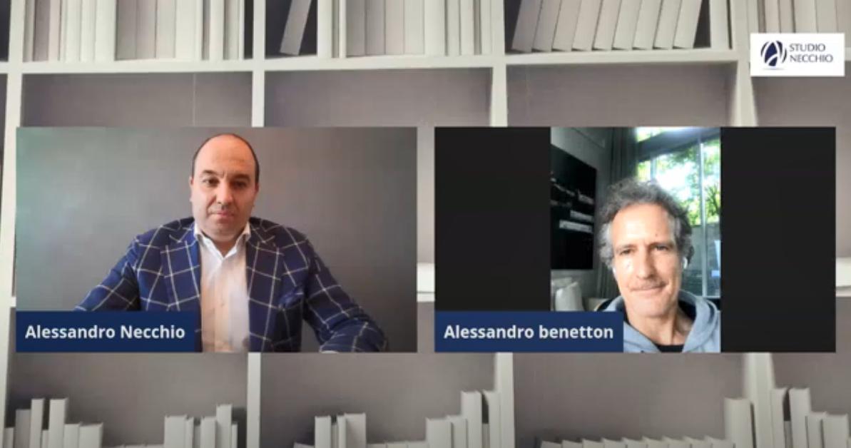 (VIDEO) 5 minuti per ripartire con ALESSANDRO BENETTON