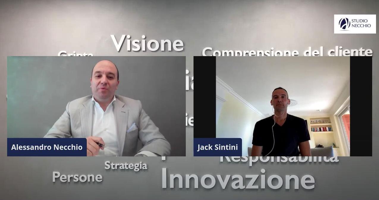 (VIDEO) 5 minuti per ripartire con JACK SINITINI