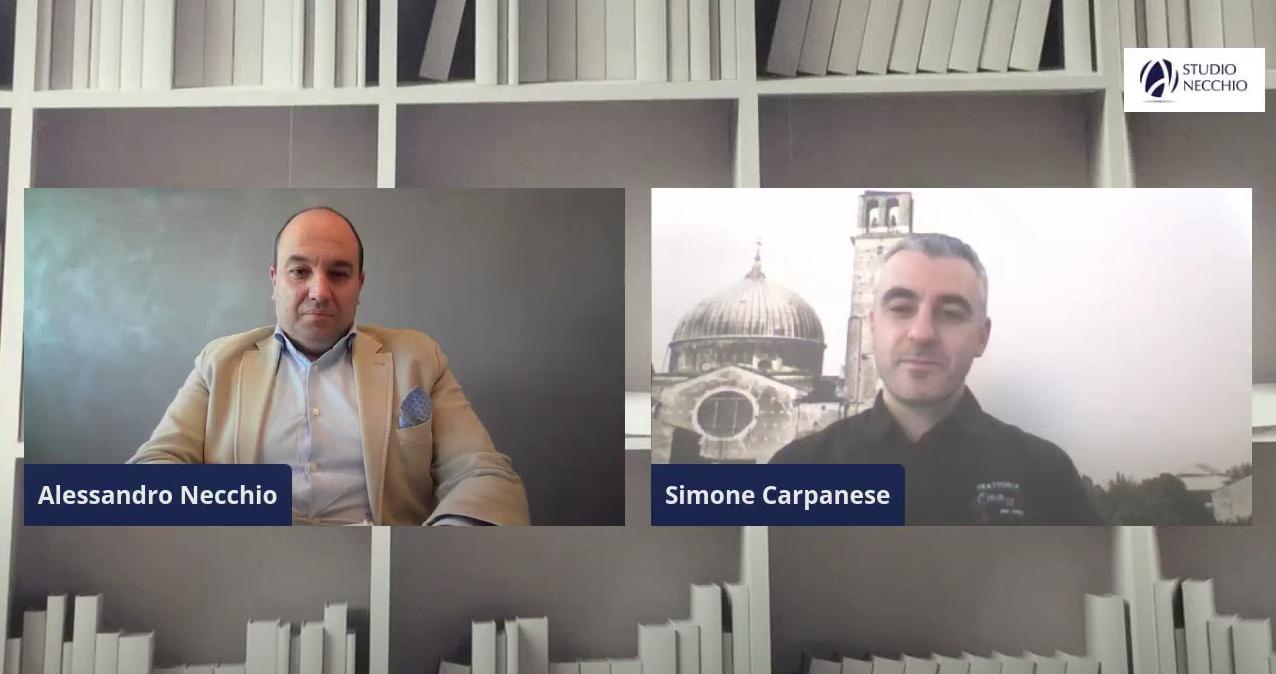 (VIDEO) 5 minuti per ripartire con SIMONE CARPANESE