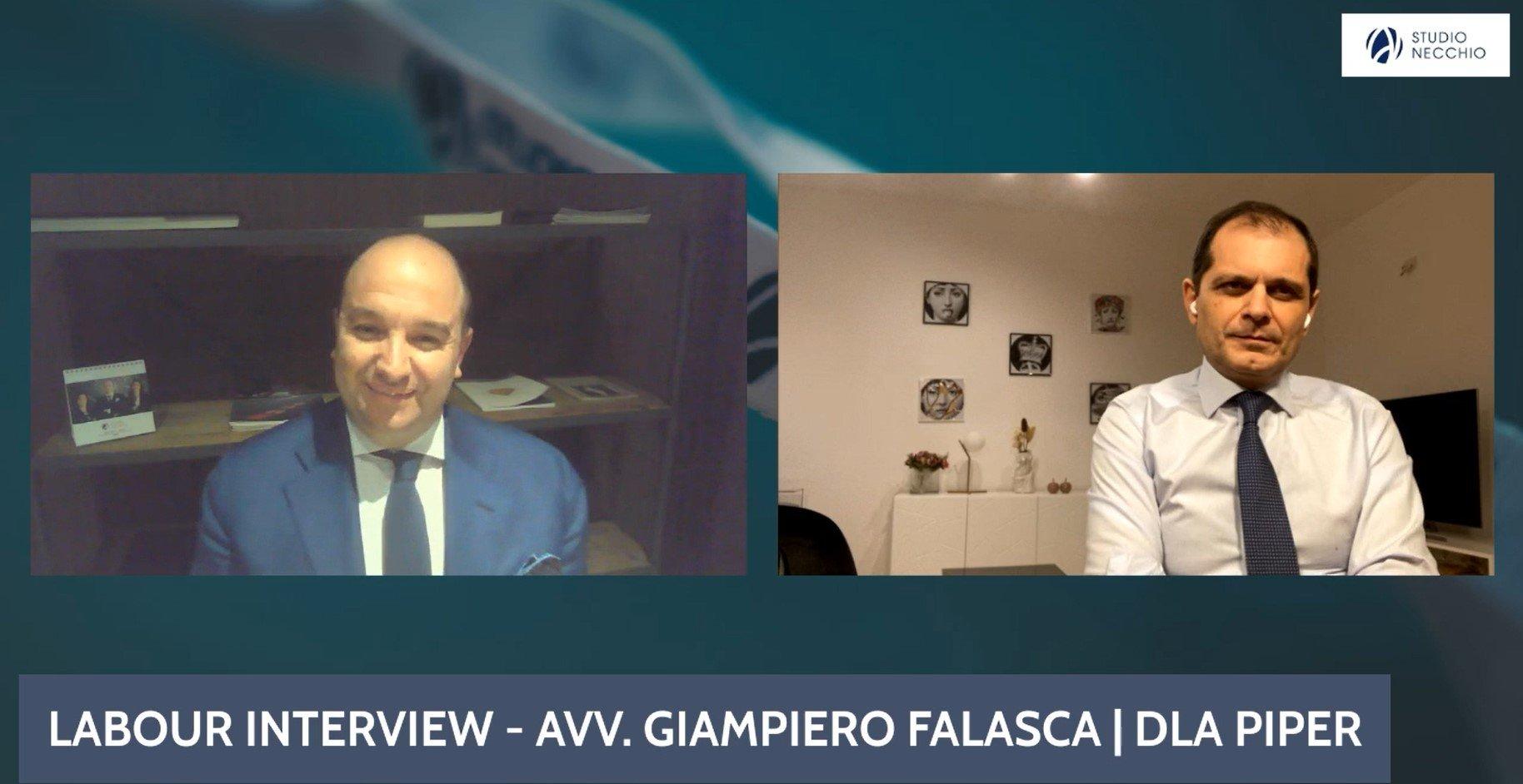 Labour Interview con l'Avvocato Giampiero Falasca | DLA Piper