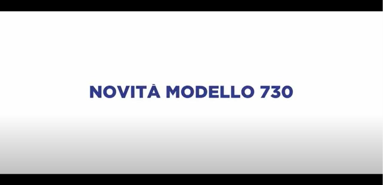 NOVITA' MODELLO 730