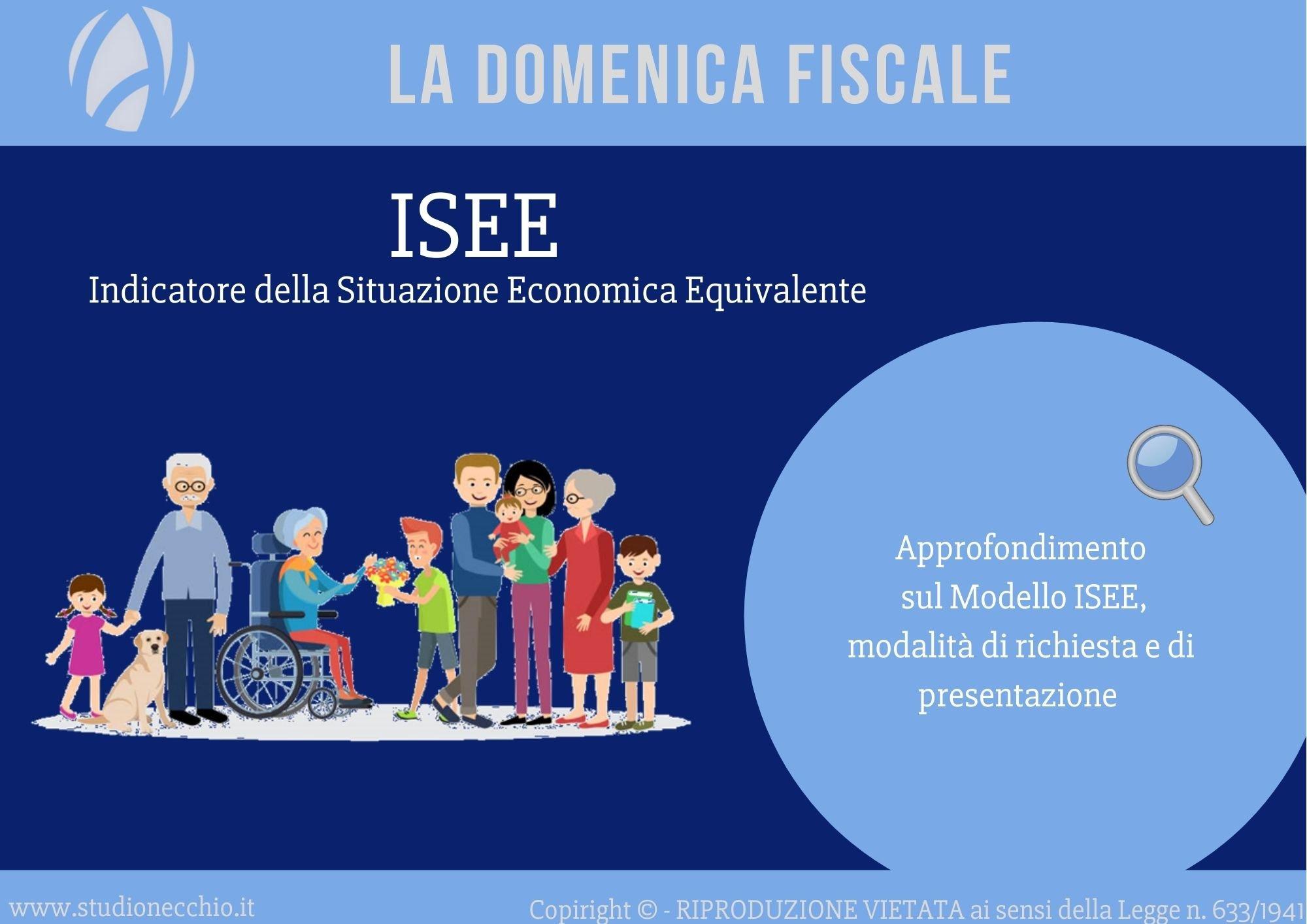 La Domenica Fiscale – ISEE