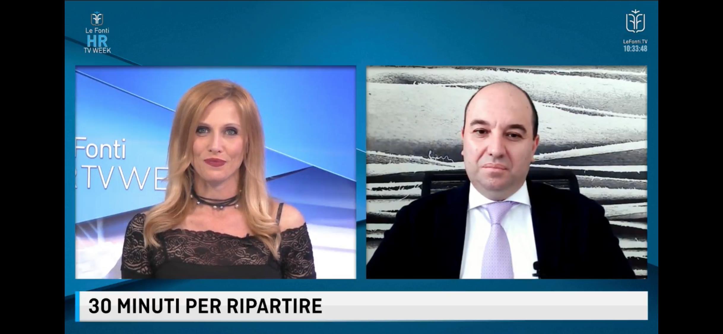 LE FONTI TV HR WEEK CON ALESSANDRO NECCHIO