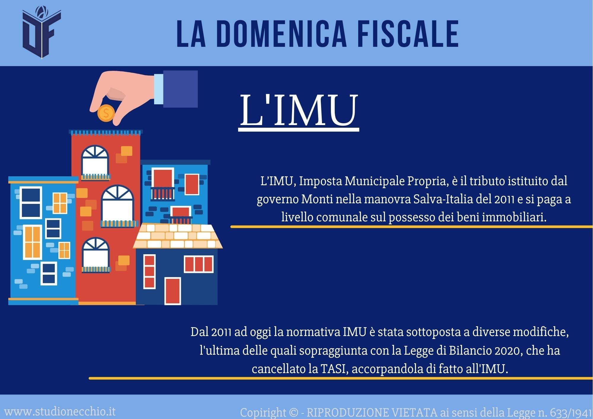 La Domenica Fiscale – L'IMU